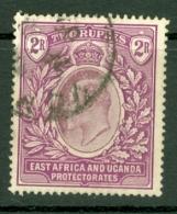 East Africa & Uganda Protectorates: 1904/07   Edward    SG27   2R    Used - Protectorados De África Oriental Y Uganda