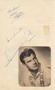 Autographe De Vidal Henri + André ... - Autographs