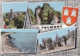 Carte Vers 1965 TALMONT / MULTIVUES - Talmont Saint Hilaire