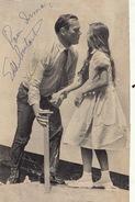 Autographe D'eddie Constantine