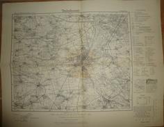 Karte Des Deutschen Reiches 1-cm-Karte - 314 Magdeburg - Umdruckausgabe! 1904 - Topographische Karten