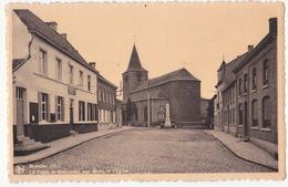 Moustier: La Place, Le Monument Aux Morts. - Frasnes-lez-Anvaing