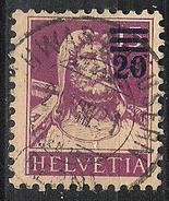 Buste De Tell 1920: Zu 150A MI 160a  Yv 183 Mit Zentral-o SCHWARZHÄUSERN 21.VIII.21 (Zumstein CHF 5.00) - Suisse