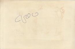 Autographe De Juliette Greco