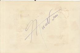 Autographe De Charles Aznavour - Autographs