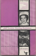 146 Page CONFERENCE PROGRAMME & GUIDE TO EXHIBITS - PROFESSIONAL NURSES & MIDWIFES - October 1963 - INTERESTING ADVERTS - Prima Infanzia