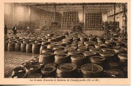 54. Champigneulles. Les Grandes Brasseries Et Malteries. Salle De Rinçage Automatique Des Futs - Andere Gemeenten