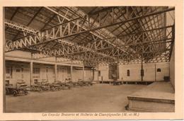 54. Champigneulles. Les Grandes Brasseries Et Malteries. Quai De Chargement Des Camions à Chevaux - Andere Gemeenten