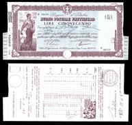 [NC] BUONO POSTALE FRUTTIFERO 500 LIRE 1941 REGNO D'ITALIA (nc1647) - Italia
