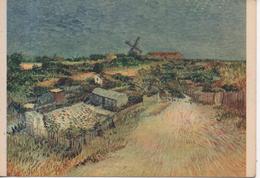 CP - V. VAN GOGH - MONTMARTRE - LES JARDINETS - 96 - BRAUN - Pintura & Cuadros