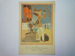 "PAQUEBOT  "" PAQUEBOT  ÎLE De FRANCE ""  :  Joli  MENU De  1931  X - Menus"