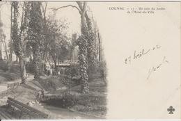 D16 - COGNAC - UN COIN DU JARDIN DE L'HOTEL DE VILLE - Cognac
