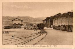 54. Champigneulles. Les Grandes Brasseries Et Malteries. Chantiers De Bois De Tonnellerie - Andere Gemeenten