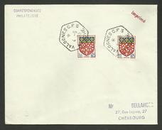 Poste Automobile Rurale / Circuit De VALOGNES C.P. N°5 ( BINIVILLE - HAUTTEVILLE ) - MANCHE - Postmark Collection (Covers)