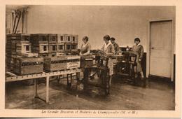 54. Champigneulles. Les Grandes Brasseries Et Malteries. Machines à étiqueter Les Bouteilles - Andere Gemeenten