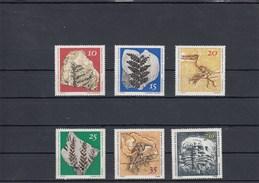 Allemagne Orientale - Neufs** -  Fossiles Année 1973 Y.T. 1519/1524 - [6] Democratic Republic