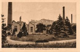 54. Champigneulles. Les Grandes Brasseries Et Malteries. Vue Prise De La Route De Champigneulles - Andere Gemeenten