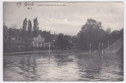 Gand Cpa Coucher De Soleil Sur Le Lac Du Parc Anno 1913 - Gent
