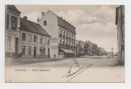 BELGIQUE - KNOCKE Hôtel Baudouin, Pionnière - Knokke