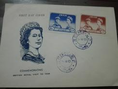 Iran 1961 Commemorating Cover,  Royal Visit  (red-1506) - Iran