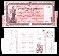[NC] BUONO POSTALE FRUTTIFERO 1000 LIRE 1941 REGNO D'ITALIA (nc1657) - Italia