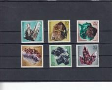 Allemagne Orientale - Neufs** Minéraux  Année 1972 Y.T. 1427/1432 - [6] République Démocratique