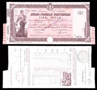 [NC] BUONO POSTALE FRUTTIFERO 1000 LIRE 1941 REGNO D'ITALIA (nc1658) - Italia