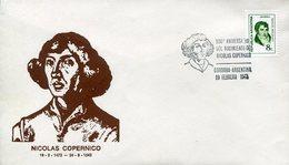 17747 Argentina,  Special Postmark Cordoba 1973 Astronom Kopernikus/copernic/copernicus/kopenika - Otros