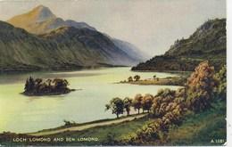 VALENTINES ART A1581 - LOCH LOMOND AND BEN LOMOND  - E H THOMPSON - Inverness-shire