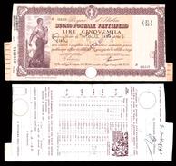 [NC] BUONO POSTALE FRUTTIFERO 5000 LIRE 1941 REGNO D'ITALIA (nc1660) - Italia
