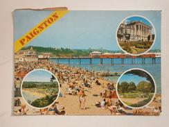 Postcard Multiview Paignton [ Pier ] Devon & RM Undelivered Sticker  My Ref B287 - Paignton