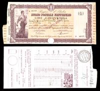 [NC] BUONO POSTALE FRUTTIFERO 5000 LIRE 1941 REGNO D'ITALIA (nc1664) - Italia