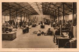 54. Champigneulles. Les Grandes Brasseries Et Malteries. Atelier De Menuiserie Mécanique - Andere Gemeenten