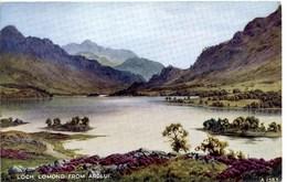 VALENTINES ART A1583 - LOCH LOMOND FROM ARDLUI - E H THOMPSON - Inverness-shire