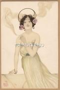 RAPHAEL KIRCHNER Lady Smoking Ad365 - Kirchner, Raphael