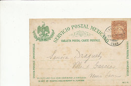 Briefkaart Servicio Postal Mexicano - 1897 - Oude Documenten