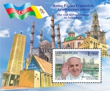 Azerbeidzjan / Azerbaijan - Postfris / MNH - Sheet Paus Franciscus 2016 - Azerbeidzjan
