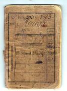 LIVRET MILITAIRE Classe 1873 - 95e Règiment D'Infanterie Dècorè De La Mèdaille Militaire En 1891 - Documents Historiques