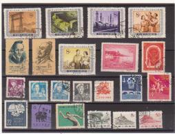 China Chine Cina PRC    Used Stamps  Lot    SEE SCAN - 1949 - ... Repubblica Popolare