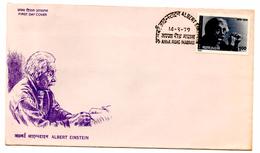 FDC (14.09.1979) Einstein_Inde - Albert Einstein