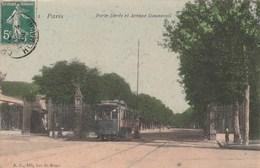 PARIS  75      CPA   COLORISEE   XIIè ARRONDISSEMENT  PORTE DOREE . - Distretto: 12