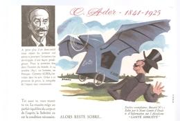 Buvard Clément Ader 1841-1925 Alors Reste Sobre Buvard N°11 - Blotters