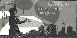 """France 2012 - Bloc Souvenir  """"France - Etats-Unis"""" (Edith Piaf - Miles Davis) Sous Blister - Souvenir Blocks & Sheetlets"""