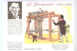 Buvard Jacquard 1752-1834 Alors Reste Sobre Buvard N°11 - Blotters