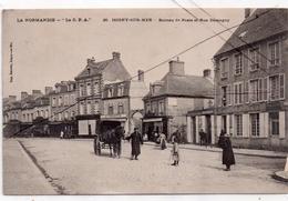Isigny-sur-Mer , Poste Et Rue Demagny - France