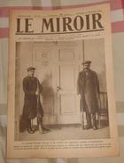 LE MIROIR. N° 214. 30 DÉCEMBRE. 1917. LA GARDE ROUGE VEILLE A LA PORTE DU TRAITRE LENINE A PETROGRAD - 1900 - 1949