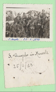 Regia Fanteria Spoleto Sant'Angelo In Mercole 1933 Militari - Guerra, Militari