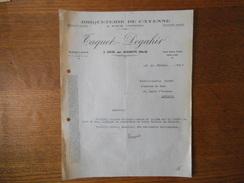 LEVAL PAR AULNOYE NORD TAQUET-DEGAHIR BRIQUETERIE DE CAYENNE A FOUR CONTINU COURRIER DU 22 FEVRIER 1939 - 1900 – 1949