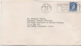 3063     Carta Toronto Ontario 1957  Institute Of Nuclear Studies