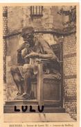 DEPT 18 : Bourges Statue Louis XI Oeuvre De Baffier ( Sans éditeur ) - Bourges